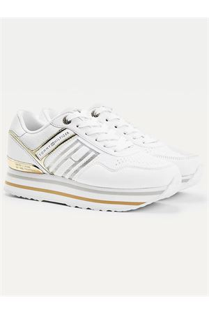 TOMMY HILFIGER Sneaker Interlock City TOMMY | 12 | FW0FW05555YBR