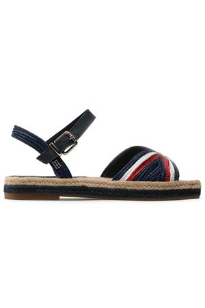 TOMMY HILFIGER Woven Sandals TOMMY | 48092677 | FW0FW055950GY