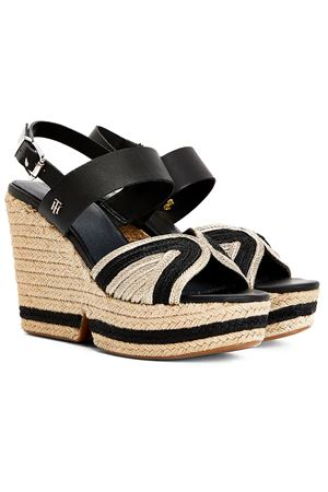 TOMMY HILFIGER Wedge with Plateau TOMMY | -383055939 | FW0FW05616BDS