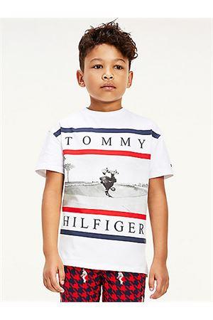 TOMMY HILFIGER T-Shirt mit Aufdruck TOMMY | 8 | KB0KB06528YBR
