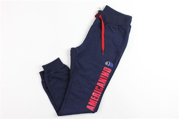 in felpa AMERICANINO | Pantaloni | 2631PF0056BLU
