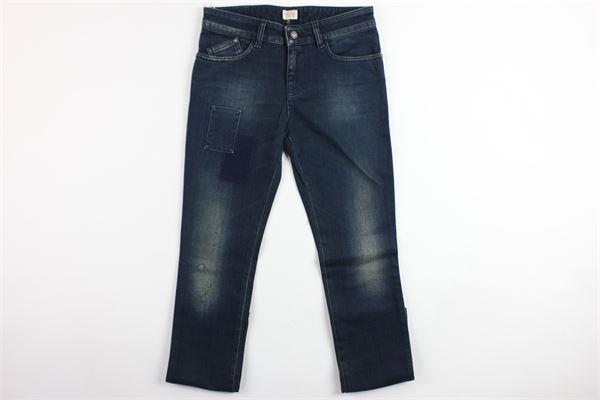 jeans 5 tasche con toppe ARMANI | Jeans | 6Y4J15BLU
