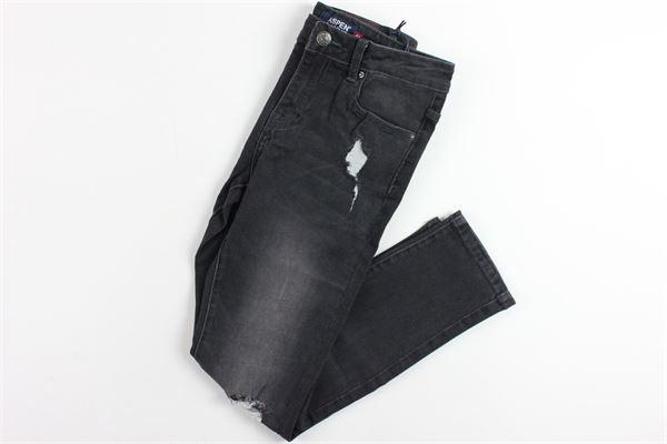 5 tasche con strappi ASPEN POLO CLUB | Jeans | 1031D0170TNERO