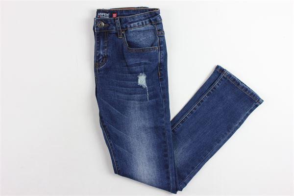 5 tasche con strappi ASPEN POLO CLUB | Jeans | 1031D0172TBLU