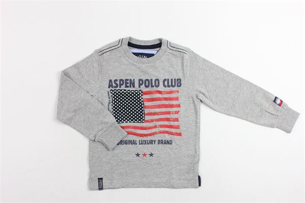 girocollo ASPEN POLO CLUB | Maglie | 1035M0004KGRIGIO