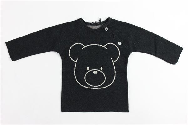 stampa orso AVENTIQUATTRORE | Shirts | A240058NERO