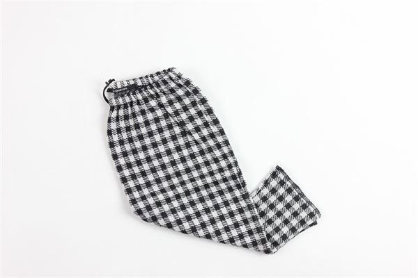a quadretti AVENTIQUATTRORE | Pantaloni | A240112BIANCO
