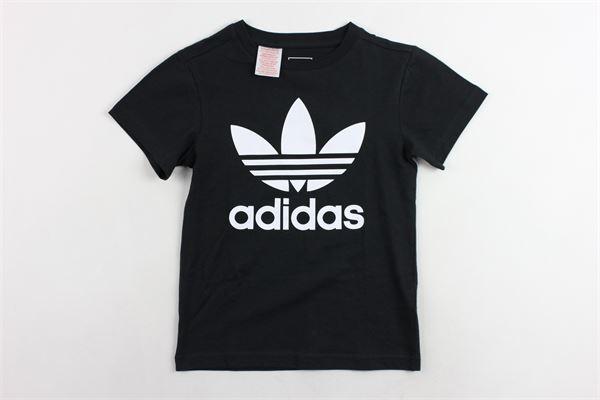 t-shirt con stampa adidas Adidas | T-shirts | CF8545NERO