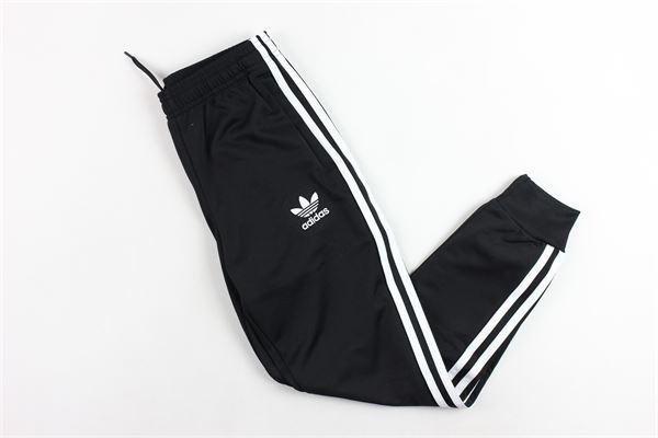 pantalone elastico in vita con stampa adidas Adidas | Pantaloni | CF8558NERO