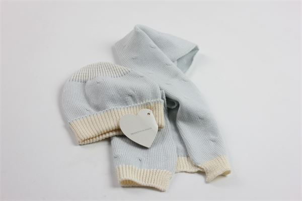 completo sciarpa + cappello BACETTI | Completi | COMPLETOBACETTI1AZZURRO