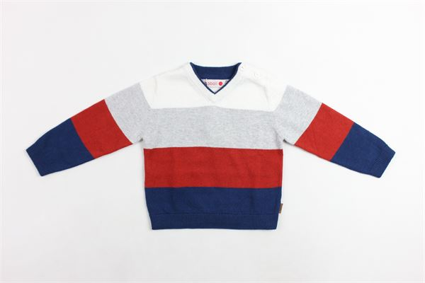 maglia a punta fascoata BOBOLI | Maglie | 716037BLKU