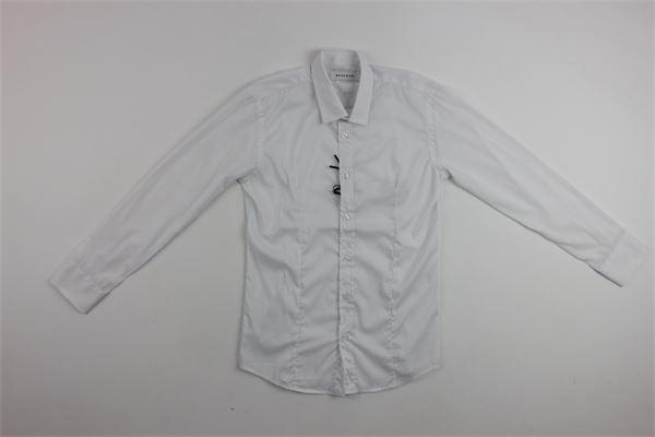 camicia tinta unita BRIAN RUSH | Camicie | 1006BIANCO
