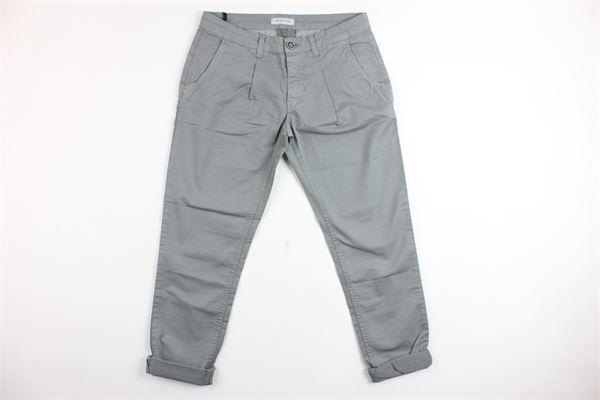 pantalone tasca america con pinces BRIAN RUSH | Pantaloni | BR1012GRIGIO