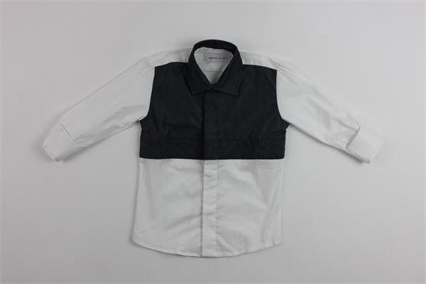 camicia bicolore m/l BRIAN RUSH | Camicie | BR19CR025NERO