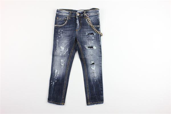 jeans 5 tasche con catena BRIAN RUSH | Jeans | BR19MC140BLU
