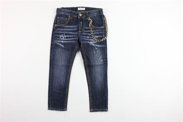 jeans 5 tasche con catena BRIAN RUSH | Jeans | BR19MC151BLU
