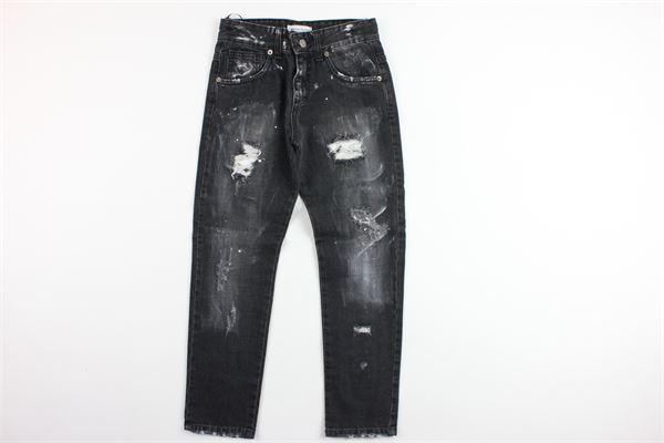 jeans 5 tasche con strappi BRIAN RUSH | Jeans | BR19MR039NERO
