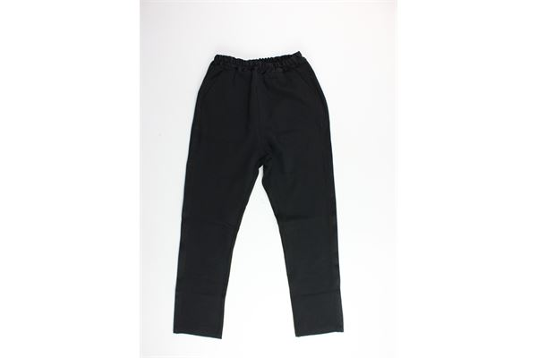 pantalone elastico in vita tasca america BRIAN RUSH | Pantaloni | BR19RF066NERO