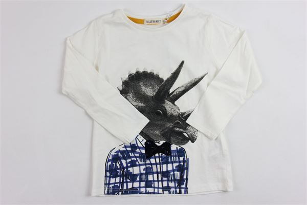 m/l con stampa Billy bandit | Shirts | V25264/105BIANCO