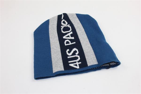 cappello con stampa 4us paciotti CESARE PACIOTTI | Cappelli | CAP503BGRIGIO