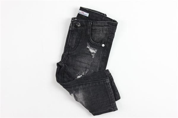 5 tasche con strappi CESARE PACIOTTI | Jeans | PJP183905BNERO