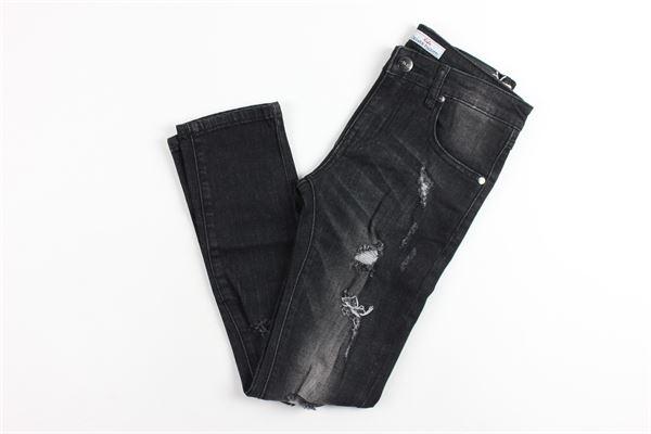 5 taschje con strappi CESARE PACIOTTI | Jeans | PJP183905JNERO