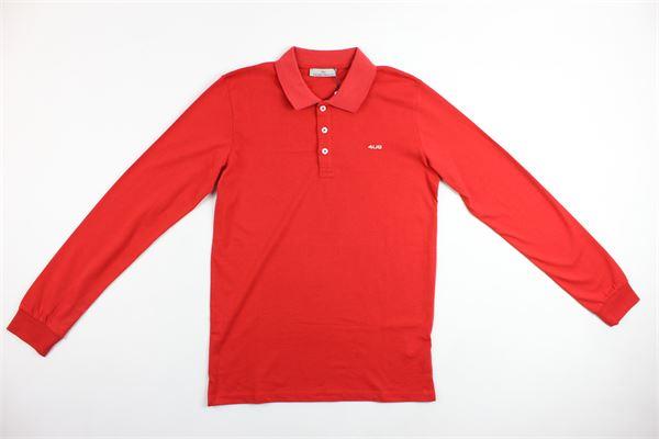 maglia polo con logo CESARE PACIOTTI | Polo | PLP705JPROSSO