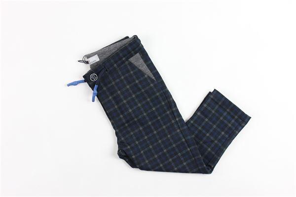 tasca america a quadri CESARE PACIOTTI | Pantaloni | PTP707BPBLUE