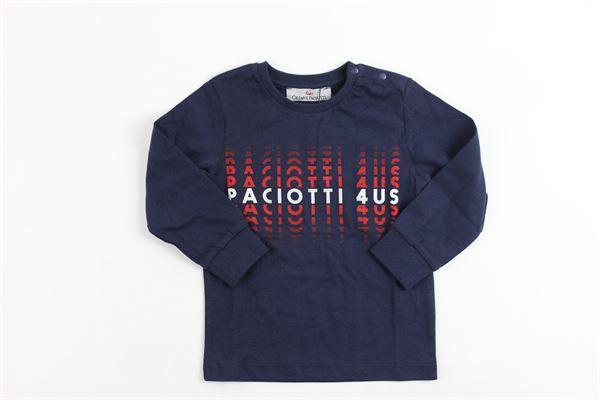 stampa paciotti 4us CESARE PACIOTTI | Shirts | TSP713BPBLUE
