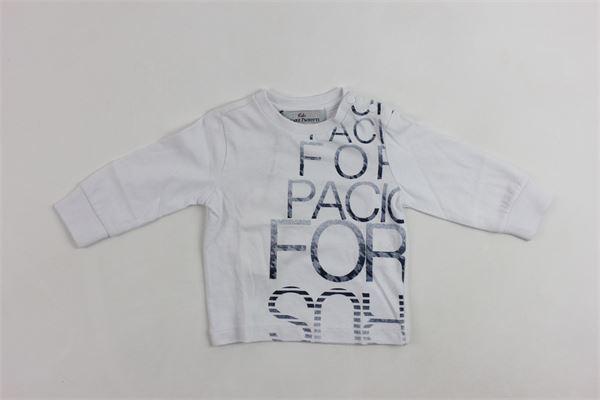 girollo con stampa CESARE PACIOTTI | Shirts | TSP715BPBIANCO