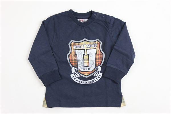 con stampa CESARE PACIOTTI | Shirts | TSP716BPBLUE
