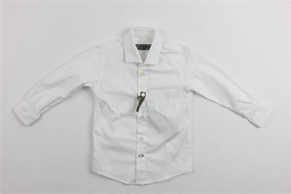camicia tinta unita con taschino CF12 MILANO | Camicie | CMC700BIANCO