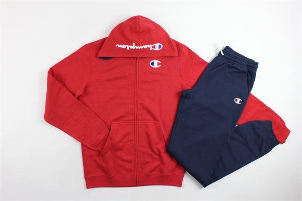 completo tuta felpa+pantalone CHAMPION | Completi | 304501ROSSO