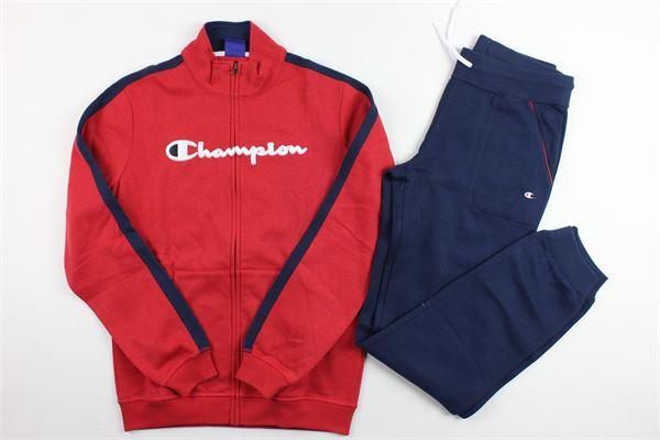 completo tuta felpa+pantalone CHAMPION | Completi | 304521ROSSO