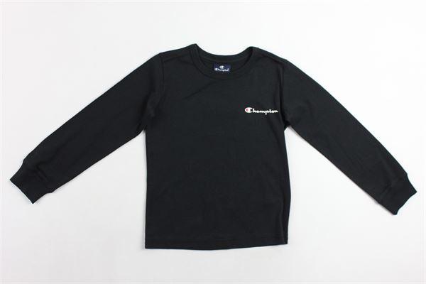 shirt m/l con stampa CHAMPION | Shirts | 304750NERO
