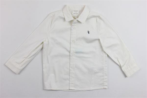 camicia m/l tinta unita con logo CARRE'MENT BEAU | Camicie | Y25219/10BBIANCO