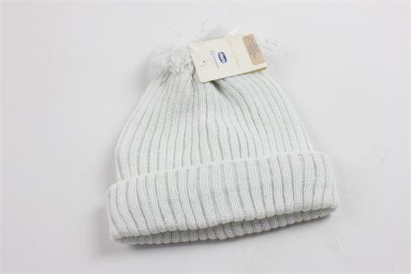 cappello bicolore a costine CHICCO | Cappelli | 04295BIANCO