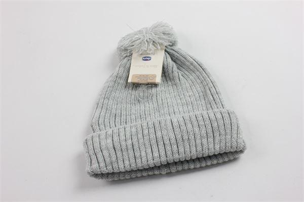 cappello bicolore a costine CHICCO | Cappelli | 04295GRIGIO