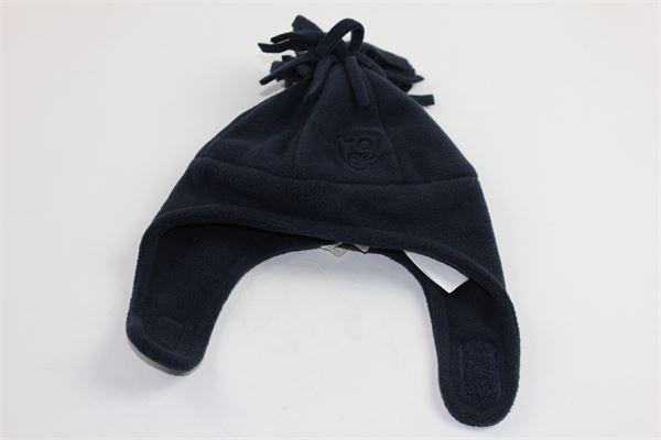 cappello pile  tinta unita con pon pon CHICCO | Cappelli | 42687BLU