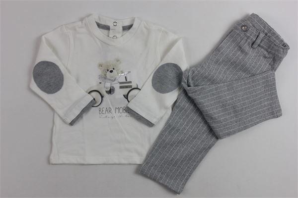 lupetto + pantalone CHICCO | Completi | 75521BIANCO