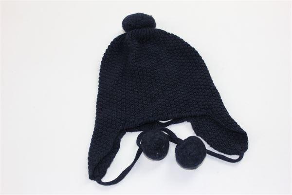 cappello tinta unita con pon pon COCCODE | Cappelli | C48710BLU