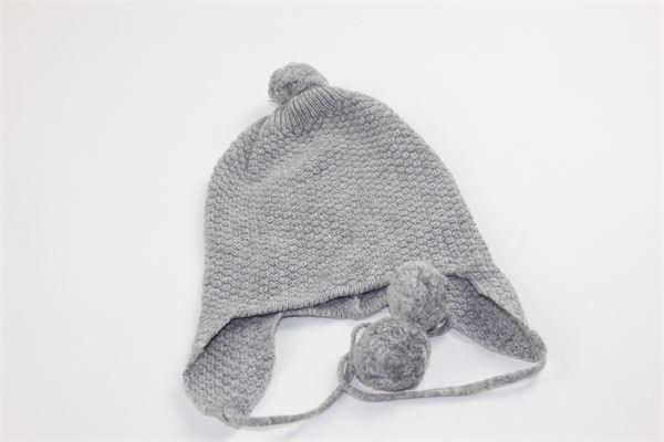 cappello tinta unita con pon pon COCCODE | Cappelli | C48710GRIGIO