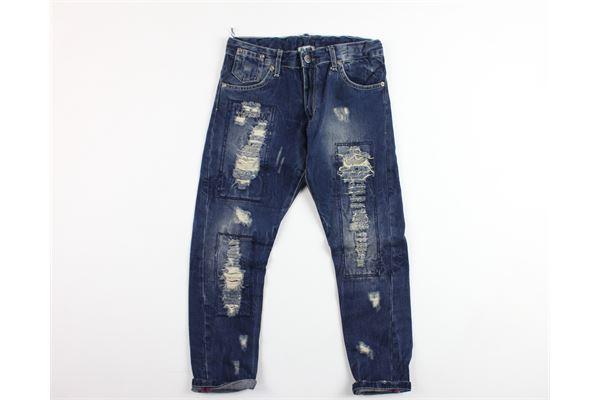 jeans 5 tasche con strappi D-DUCK | Jeans | B453BLU