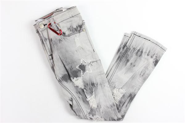 jeans con strappi DANIELE ALESSANDRINI | Jeans | DA35D0753JGRIGIO
