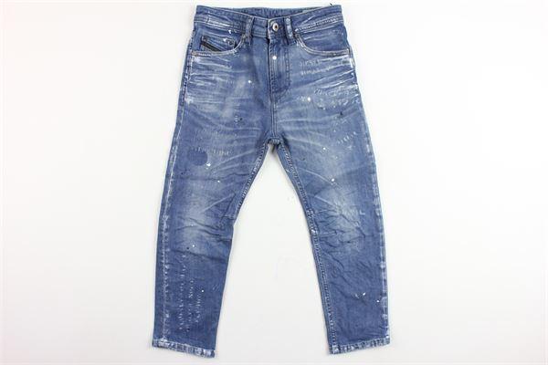 jeans 5 tasche con schizzi pittura DIESEL | Jeans | 00J3AFBLU