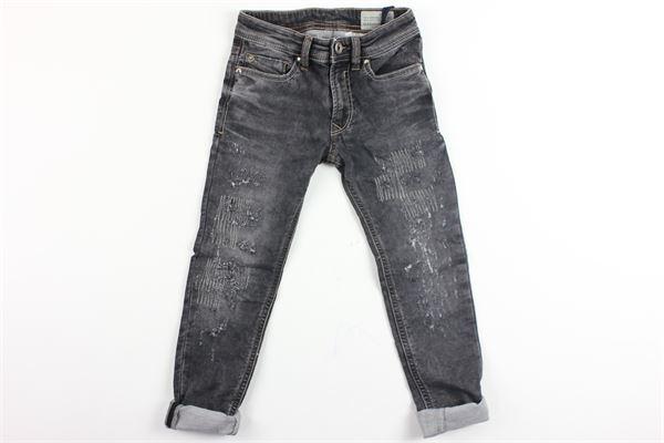 jeans 5 tasche con strappi DIESEL | Jeans | 00J3Y1NERO