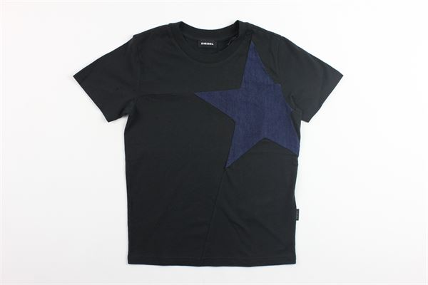 t-shirt con stampa stelle DIESEL | T-shirts | 00J3ZENERO