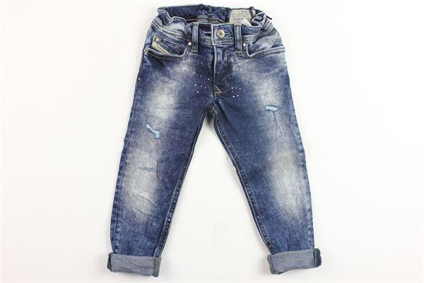 jeans 5 tasche con strappi DIESEL | Jeans | 00K1MGBLU