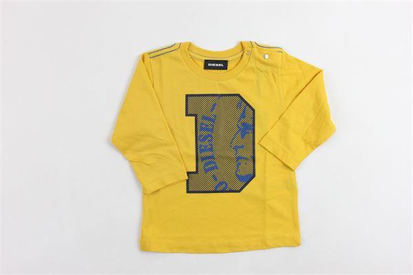 m/l con stampa DIESEL | Shirts | 00K1N3-00YI9GIALLO