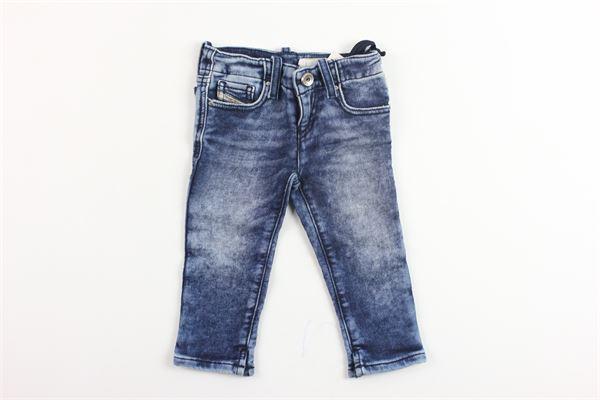 jeans 5 tasche con girovita regolabile DIESEL | Jeans | 00K1VEBLU